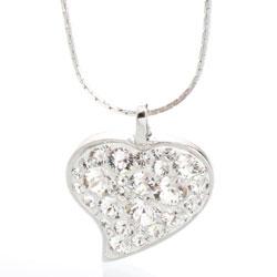 Náhrdelník s krystaly Swarovski Heart Crystal
