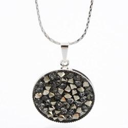 Náhrdelník s krystaly Swarovski Rock 20 11302553MLGLD