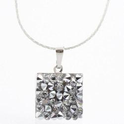 Náhrdelník s krystaly Swarovski Rock 15 11304553CR