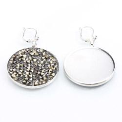 Obrázek č. 1 k produktu: Náušnice s krystaly Swarovski Rock 30 11400553MLGLD