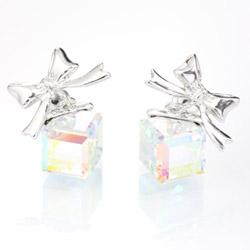 Náušnice s krystaly Swarovski 11400795AB