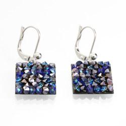 Náušnice s krystaly Swarovski Rock 11404553BB