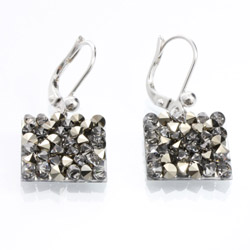 Náušnice s krystaly Swarovski Rock 11404553MLGLD