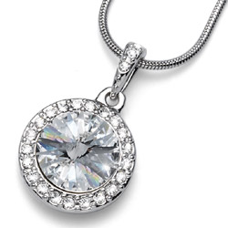 Přívěsek s krystaly Swarovski Oliver Weber Coast Crystal