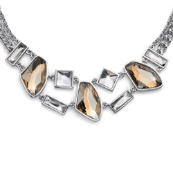Náhrdelník s krystaly Swarovski Oliver Weber Sovereign
