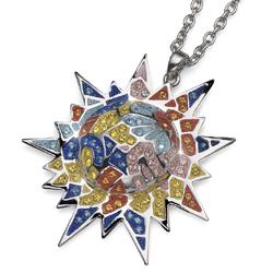 Náhrdelník s krystaly Swarovski Oliver Weber Gaudí Sun