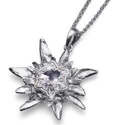 Náhrdelník s krystaly Swarovski Oliver Weber Edelweiss Rustic