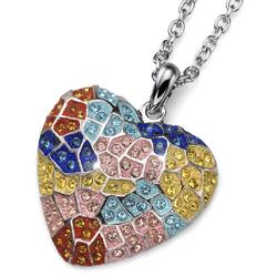 Náhrdelník s krystaly Swarovski Oliver Weber Gaudí Heart