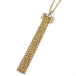 Náhrdelník s krystaly Swarovski Oliver Weber Gain Gold