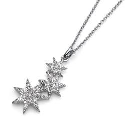 Pøívìsek s krystaly Swarovski Oliver Weber Sissi Silver
