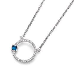 Přívěsek s krystaly Swarovski Oliver Weber Break Blue