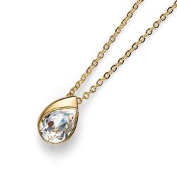 Pøívìsek s krystaly Swarovski Oliver Weber Be Gold