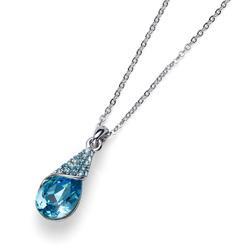 Přívěsek s krystaly Swarovski Oliver Weber Pack Aqua