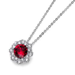 Pøívìsek s krystaly Swarovski Oliver Weber Year Red
