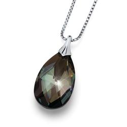 Pøívìsek s krystaly Swarovski Oliver Weber Vitality Large Black