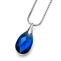 Přívěsek s krystaly Swarovski Oliver Weber Vitality Small Sapphire