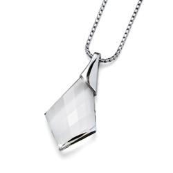 Přívěsek s krystaly Swarovski Oliver Weber Vitality Silver