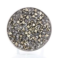Obrázek č. 1 k produktu: Prsten s krystaly Swarovski Rock 11700553MLGLD