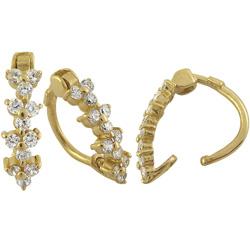 Zlatý piercing do pupíku ZL01006