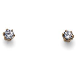 Náušnice s krystaly Swarovski Oliver Weber Brili Small Gold