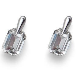 Náušnice s krystaly Swarovski Oliver Weber Club Crystal
