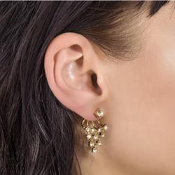 Obrázek č. 1 k produktu: Náušnice s krystaly Swarovski Oliver Weber Effect Gold