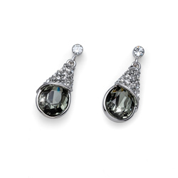 Naušnice s krystaly Swarovski Oliver Weber Pack Diamond