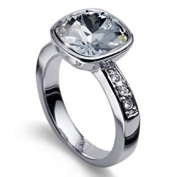 Prsten s krystaly Swarovski Oliver Weber Enjoy Crystal