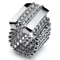 Prsten s krystaly Swarovski Oliver Weber Even