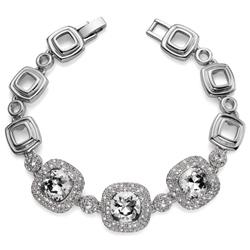 Náramek s krystaly Swarovski Oliver Weber Autentic Crystal