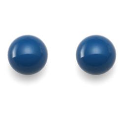 Náušnice s krystaly Swarovski Oliver Weber Combi Lapis Blue