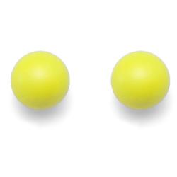 Náušnice Oliver Weber Combi Neon Yellow