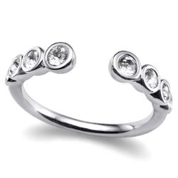 Prsten s krystaly Swarovski Oliver Weber Serial