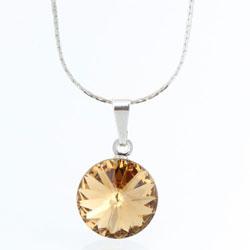 Náhrdelník s krystalem Swarovski Rivoli 12 43112212LCOLO