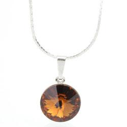 Náhrdelník s krystalem Swarovski Rivoli 12 43112212SMTOP