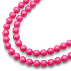Náhrdelník Oliver Weber Perlen Combi Neon Pink