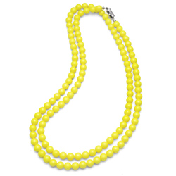 Obrázek č. 2 k produktu: Náhrdelník Oliver Weber Perlen Combi Neon Yellow