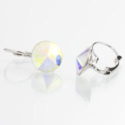 Obrázek č. 1 k produktu: Náušnice s krystaly Swarovski Rivoli 12 Rainbow
