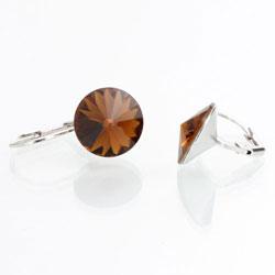 Náušnice s krystaly Swarovski Rivoli 12 44112212SMTOP