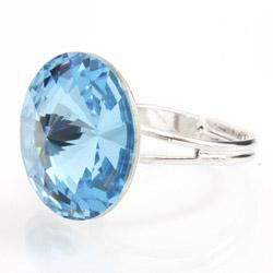 Prsten s krystaly Swarovski Rivoli 47112218A