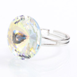 Prsten s krystaly Swarovski Rivoli 47112218AB