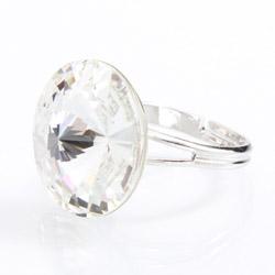 Prsten s krystaly Swarovski Rivoli 47112218CR