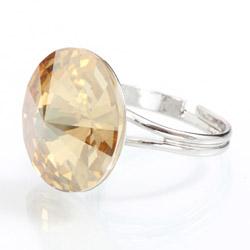 Prsten s krystaly Swarovski Rivoli 47112218G