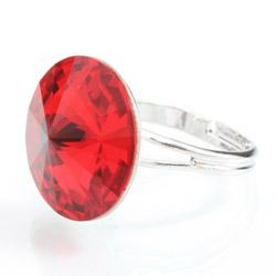 Prsten s krystaly Swarovski Rivoli 47112218S