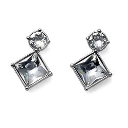 Náušnice s krystaly Swarovski Oliver Weber Graceful