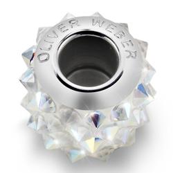 Pøívìsek s krystaly Swarovski Oliver Weber Match Spike Crystal