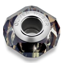 Pøívìsek s krystaly Swarovski Oliver Weber Match Helix Thin Topaz