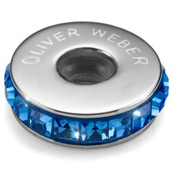 Přívěsek s krystaly Swarovski Oliver Weber Match Stopper Sapphire