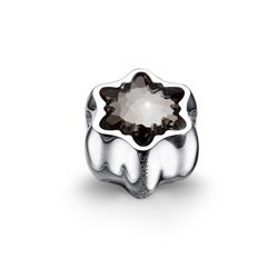 Pøívìsek s krystaly Swarovski Oliver Weber Flake Silver 56023
