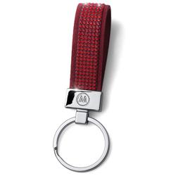 Přívěsek na klíče s krystaly Swarovski Oliver Weber Alcantara Red